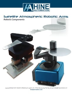 Atmospheric robotic arms brochure