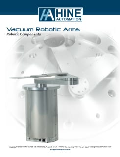 Vacuum robotic arms brochure